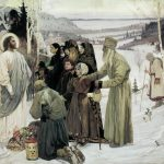 Holy Russia by Mikhail Vasilievich Nesterov, 1907