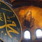 Hagia Sophia in Constantinople (Istanbul), Turkey
