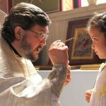 Anointing the Little Girl