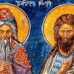 The Prophet Zacharias and St. John the Baptist