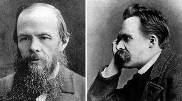 Fyodor Dostoevsky and Friedrich Nietzsche