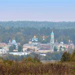 Optina Pustyn Monastery near Kozelsk, Russia