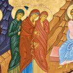 The Myrrh Bearing Women at the Tomb