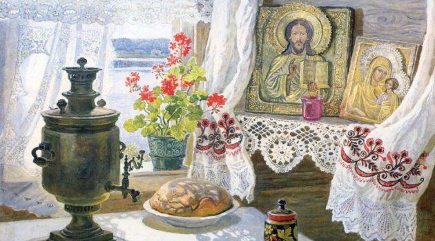 A Russian Still Life by Irina Vorobyeva